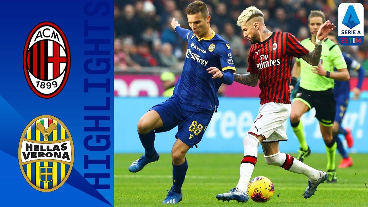 AC Milan 1-1 Hellas Verona | 10-Man Verona Hold on to Draw ...