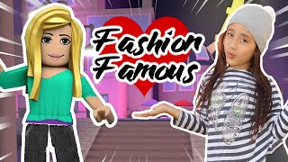 ROBLOX Fashion Famous 💖 playing for the first time