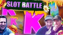 ONLINE SLOTS BATTLE!! Josh vs Jamie vs Scotty!! Multifly, Majestic Megaways And More!