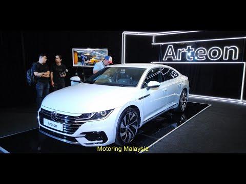 2019 Volkswagen Arteon Previewed at the Volkswagen Fest 2019 Malaysia
