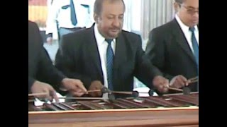 """ASÍ TE SOÑÉ"" del Compositor Bernardo Enríquez - Marimba del INGUAT"