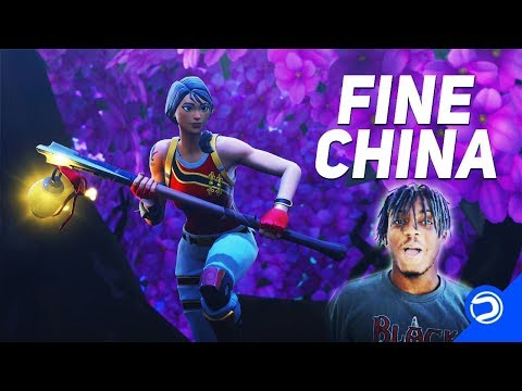 Fortnite Montage  Fine China Juice WRLD & Future