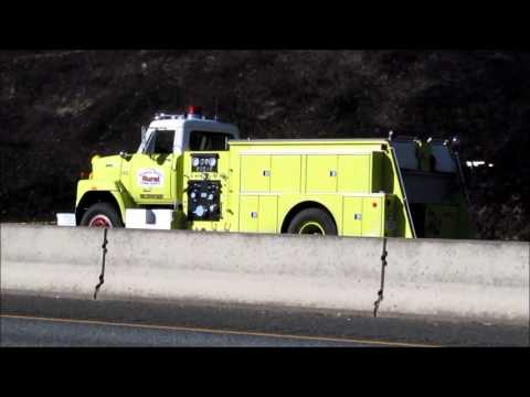 A broken down fire truck is no good at a fire. Grants Pass Rural Fire Josephine County Oregon