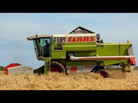 South Devon Barley Harvesting