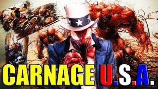 CARNAGE BONDS TO THE AVENGERS (CARNAGE U.S.A.) │ Comic History