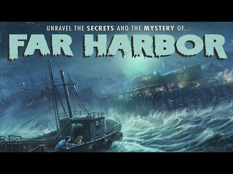 EXPLORING & QUESTING IN FAR HARBOR!!   Fallout 4 Livestream #6 [Season 2]