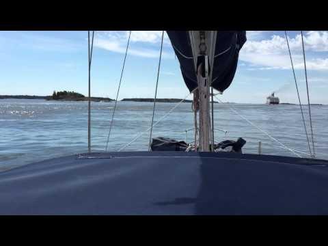 Mariehamn (Åland Inseln) und die Fähren - Teil 1