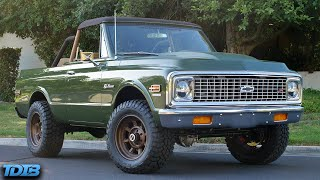 homepage tile video photo for 430HP Chevy K5 Blazer Review! Better Than the New Ford Bronco?