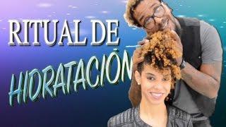 Ritual de hidratación para cabello rizo / TUTORIAL