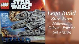Let's Build - LEGO Star Wars Millennium Falcon Set #75105 - Part 1