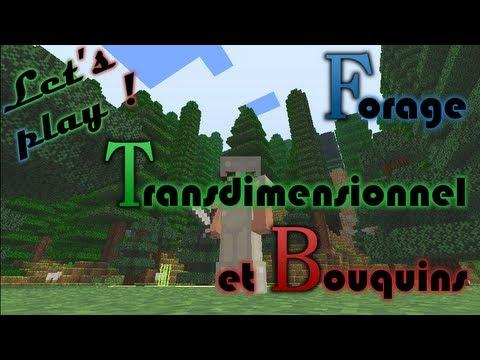 Let's play! - FTB - Ep.10: Forage Transdimensionnel et Bouquins