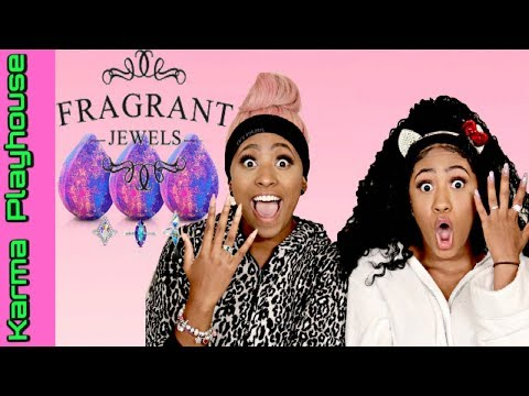 FRAGRANT JEWELS TUB REVIEW & UNBOXING SURPRISE RING REVEAL Karma Playhouse