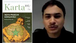Jeremi Galdamez: Język przeciw nienawiści. Esperanto 1887–2020