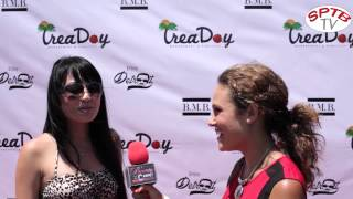 Hollywood beauty Natalise talks to SPTBtv