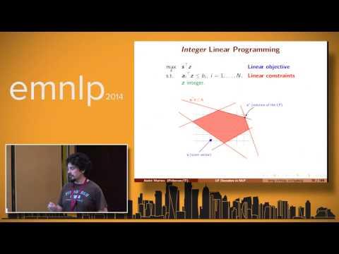 Linear Programming decoder In NLP Part 1