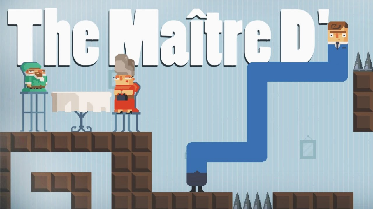The maitre d gameplay stretchy waiter let 39 s play the for What is a maitre d
