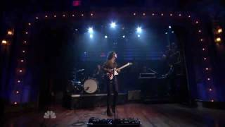St. Vincent - She Is Beyond Good and Evil (The Pop Group Cover) - Live @ Fallon [720p]