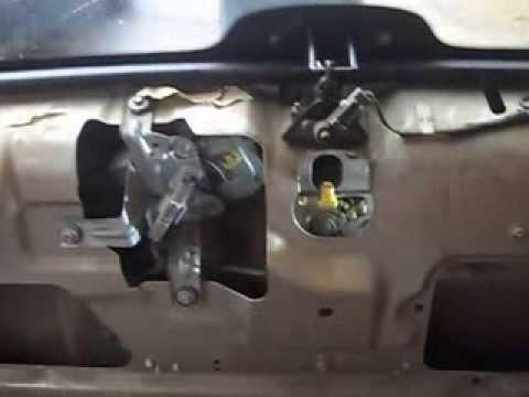 Ford Explorer XLT 2001 Lift Gate Malfunction  YouTube