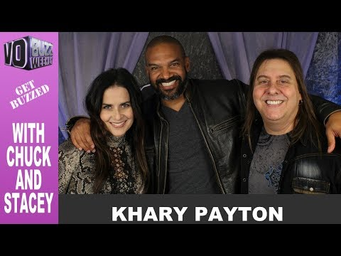 Khary Payton PT1  King Ezekiel in The Walking DeadTWD  Voice of Cyborg, Black Manta & Wasabi