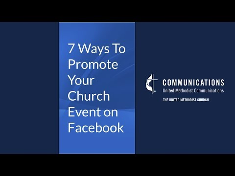 7 Ways to Promote Your Church Event on Facebook