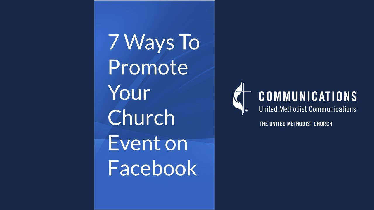 7 ways to promote your church event on facebook youtube 7 ways to promote your church event on facebook malvernweather Choice Image