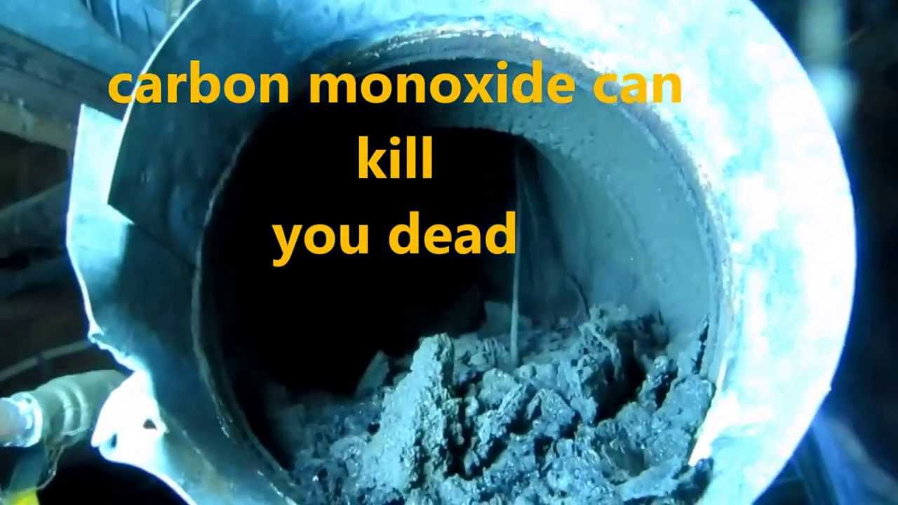 GAS BOILER REPLACEMENT: HIGH CARBON MONOXIDE IN HOME - YouTube
