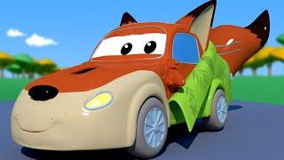 ГОНОЧНЫЙ АВТОМОБИЛЬ Джерри Ник Уайлд из Зверополиса Автомобильный Город детский мультфильм