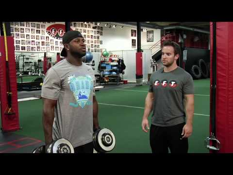 On Demand: Explosiveness in gym with Devin Hester