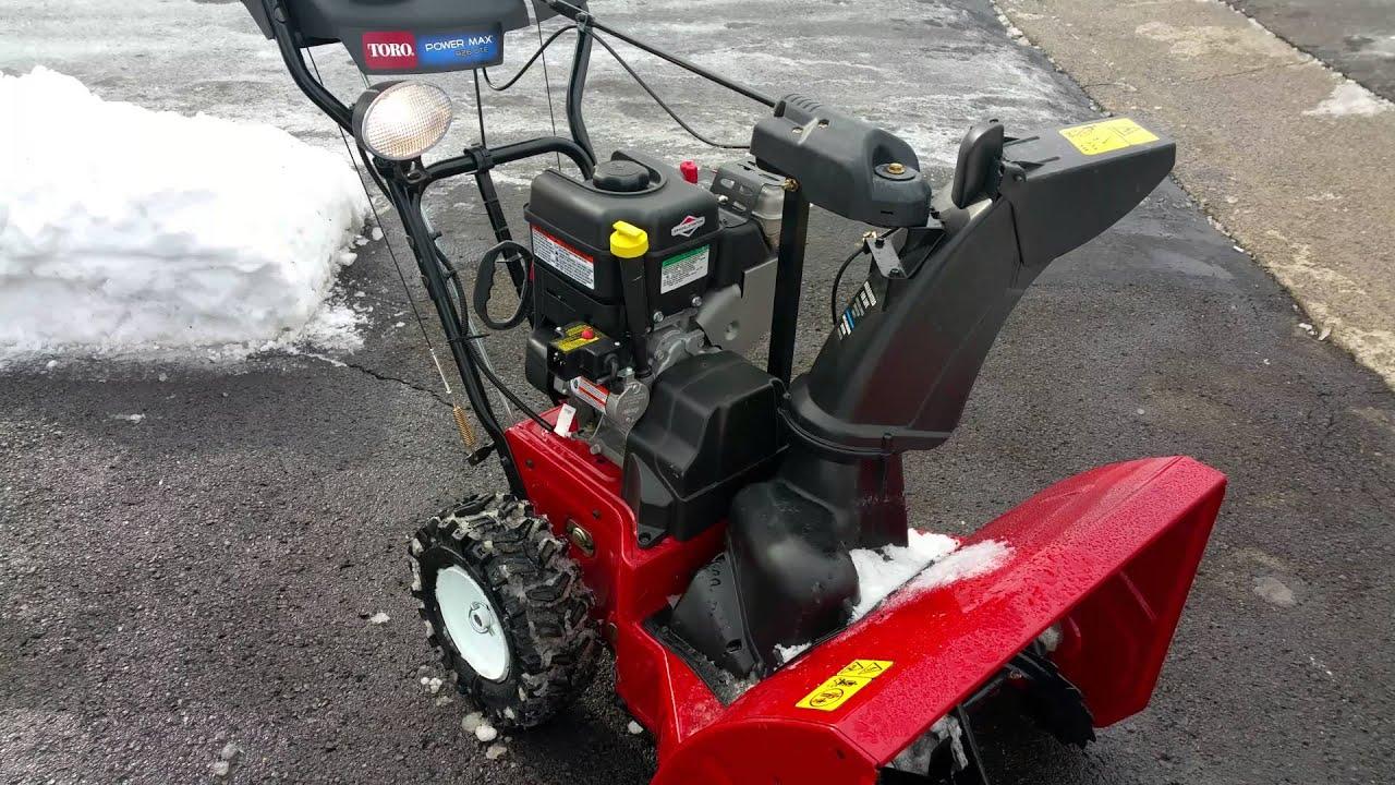toro 726 oe snowblower manual