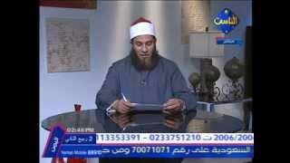 حكم شرب المني للمراه للشيخ علي ونيس