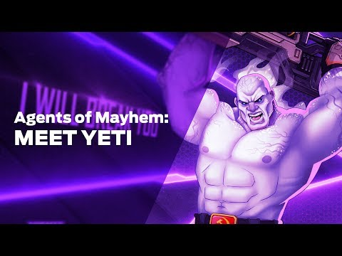 Agents of Mayhem: Meet Yeti