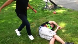 WSHH. Racist White Kid vs. Black kid