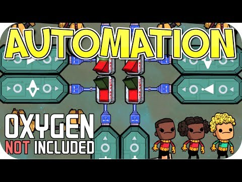 ONI AUTOMATION UPGRADE: FIRST AUTOMATION CIRCUIT!!! SEASON 03 EP 2 OXYGEN NOT INCLUDED