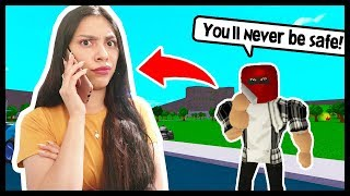 I CALLED MY STALKER TO GET THE TRUTH! - ROBLOX - Bloxburg