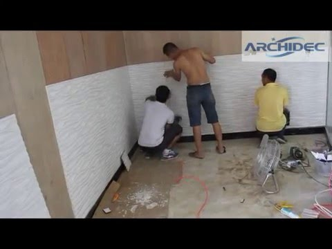 Step 1 3d Wall Panels Installation Details 2 Demo Youtube