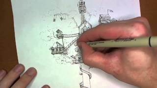 How to Draw Your Dream Treehouse