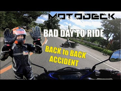 FULL GEAR MARILAQUE RIDE, ALL AEROX, 2 Accidents