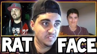 RAT FACE on OMEGLE!  (THE SEARCH FOR @FaZe_Rain)