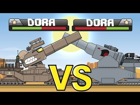 """""""Railway Monsters Duel"""" -  Cartoons About Tanks"""