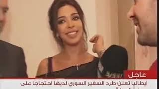 """بعد طلاقهما..شاهدوا أول لقاء لـ """"الجديد"""" مع نادين نسيب نجيم وهادي أسمر"""