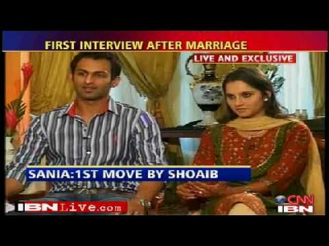 Sania mirza Shoaib Malik interview after marriage part 2