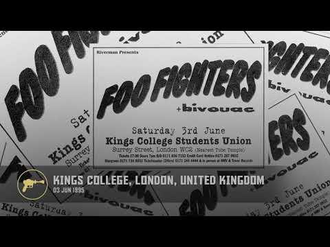 Foo Fighters - Kings College, KCLSU Studio Union, London, United Kingdom (03/06/1995) AUD 1