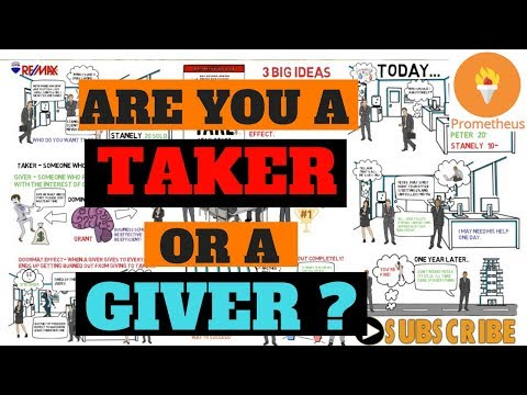 GIVE AND TAKE | By Adam Grant EXPLAINED