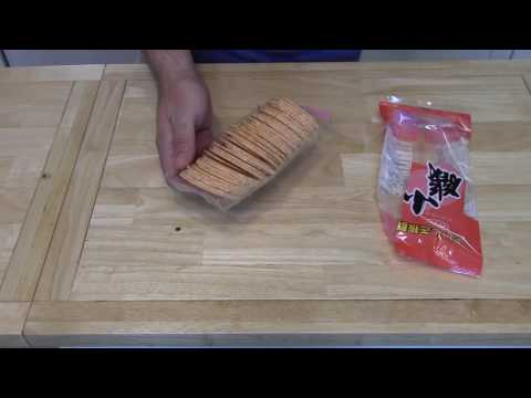 Japanese Shrimp Crackers | Food Review