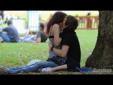 Kissing Prank 💋 PARK Kissing Games