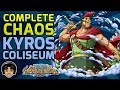 Walkthrough for the Complete Chaos Kyros Coliseum [One Piece Treasure Cruise]