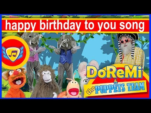 Birthday Card - Puppets Team- Wishes For Birthday, Happy Birthday Song Funny, Happy Birthday To You