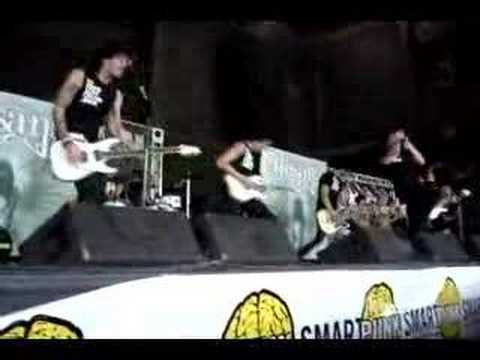 Alesana - Ambrosia WARPED TOUR 2007 ATLANTA