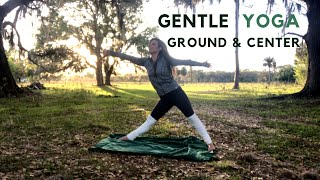 Gentle Yoga to Ground, Calm, & Center {Short 6 Minute Yoga Practice}
