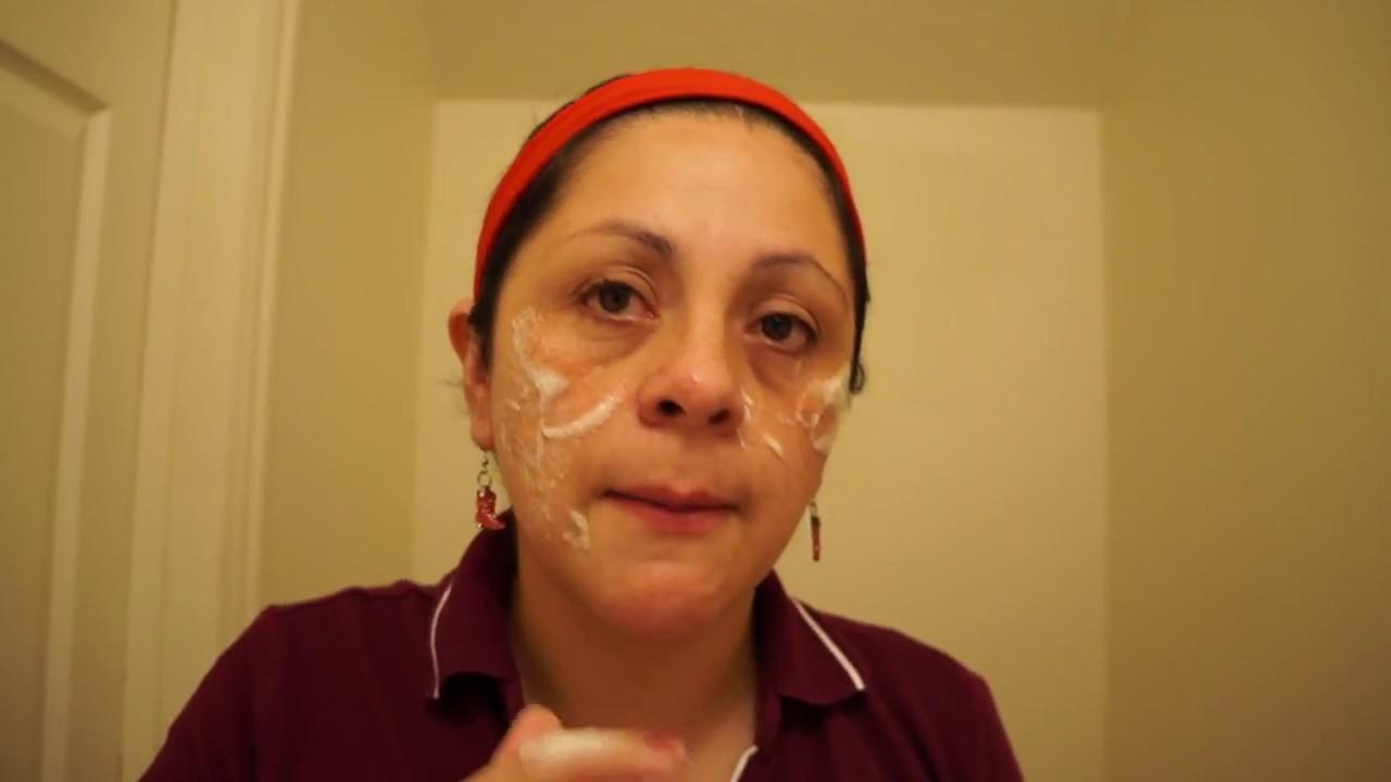 mascarilla de huevo y aceite de coco para la cara